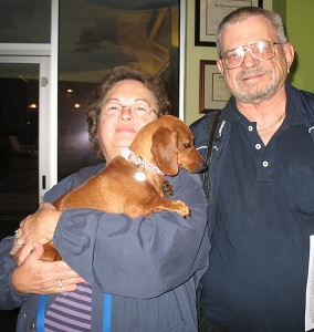 Ginger & her new family